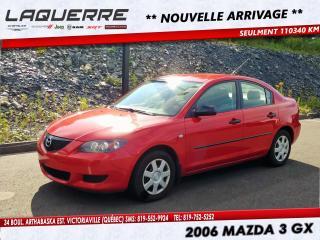 Used 2006 Mazda MAZDA3 4dr Sdn GX Auto for sale in Victoriaville, QC