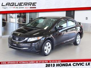 Used 2013 Honda Civic LX for sale in Victoriaville, QC