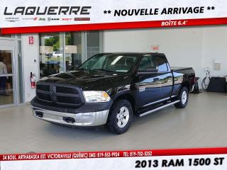 Used 2013 RAM 1500 4WD Quad Cab 140.5  ST for sale in Victoriaville, QC