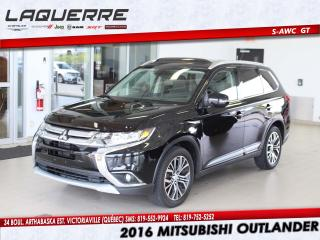 Used 2016 Mitsubishi Outlander AWC 4DR GT for sale in Victoriaville, QC
