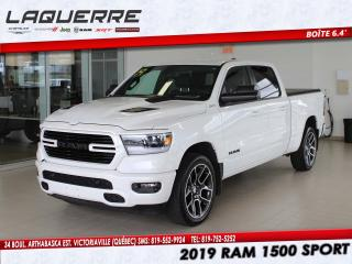 Used 2019 RAM 1500 Sport 4x4 Crew Cab 6'4  Box for sale in Victoriaville, QC