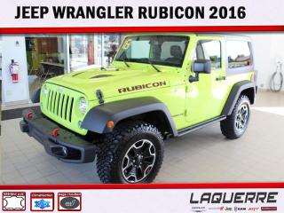 Used 2016 Jeep Wrangler Rubicon *ANTIROUILLE * for sale in Victoriaville, QC