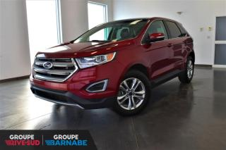 Used 2016 Ford Edge SEL + AWD + V6 + TOIT PANO + NAV + CUIR for sale in St-Jean-Sur-Richelieu, QC