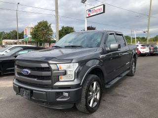 Used 2016 Ford F-150 Lariat. Fx4 for sale in Cobourg, ON