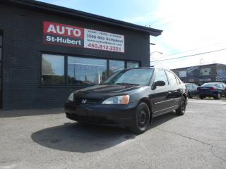 Used 2003 Honda Civic DX-G for sale in St-Hubert, QC