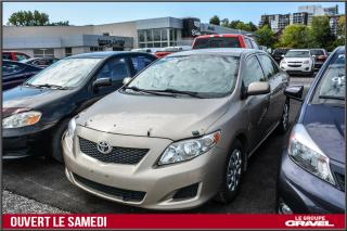 Used 2010 Toyota Corolla CE - Air clim - Abs - Lecteur Cd for sale in Ile-des-Soeurs, QC