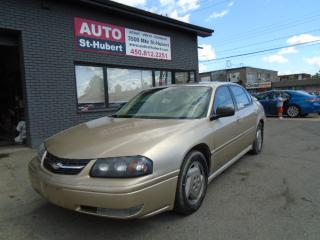 Used 2005 Chevrolet Impala for sale in St-Hubert, QC