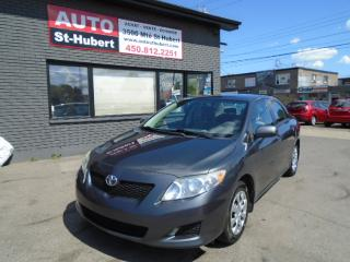 Used 2010 Toyota Corolla for sale in St-Hubert, QC