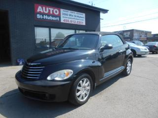 Used 2007 Chrysler PT Cruiser Convertible Touring for sale in St-Hubert, QC