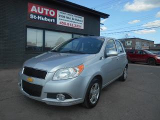 Used 2011 Chevrolet Aveo LT for sale in St-Hubert, QC