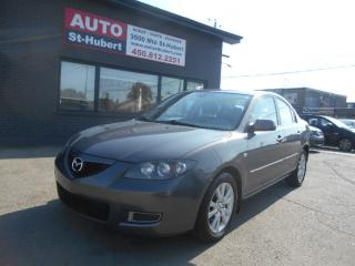Used 2009 Mazda MAZDA3 GS for sale in St-Hubert, QC