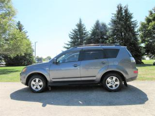 Used 2009 Mitsubishi Outlander SE V6 4WD- 7 PASSENGER for sale in Thornton, ON