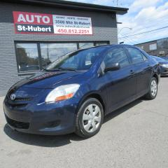 Used 2008 Toyota Yaris for sale in St-Hubert, QC