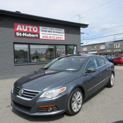 Used 2010 Volkswagen Passat CC SPORT 2.0T for sale in St-Hubert, QC
