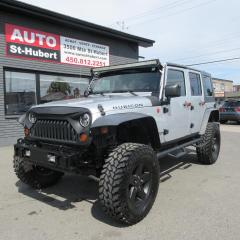 Used 2008 Jeep Wrangler RUBICON 4X4 ** 2 TOITS INCLUS ** for sale in St-Hubert, QC