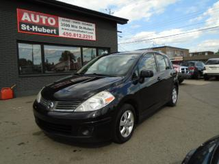 Used 2009 Nissan Versa 1.8S for sale in St-Hubert, QC