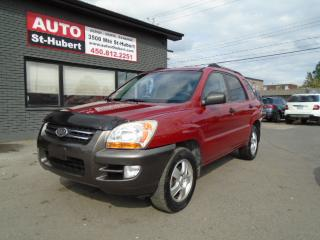 Used 2006 Kia Sportage LX for sale in St-Hubert, QC