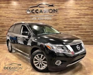 Used 2015 Nissan Pathfinder 4 roues motrices SL cuir gps toit pano for sale in Ste-Brigitte-de-Laval, QC