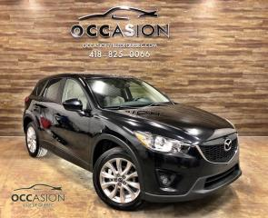 Used 2013 Mazda CX-5 Traction intégrale, NAVIGATION, CAMERA D for sale in Ste-Brigitte-de-Laval, QC