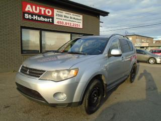 Used 2009 Mitsubishi Outlander 4WD for sale in St-Hubert, QC