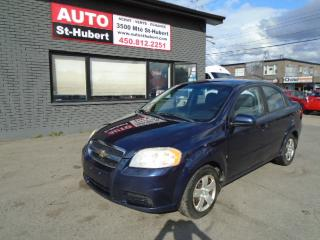 Used 2009 Chevrolet Aveo for sale in St-Hubert, QC