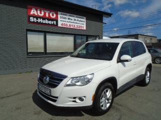Used 2010 Volkswagen Tiguan for sale in St-Hubert, QC