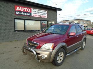 Used 2003 Kia Sorento for sale in St-Hubert, QC
