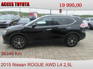 Used 2015 Nissan Rogue SV for sale in Rouyn-Noranda, QC