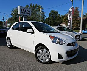 Used 2015 Nissan Micra SV HATCHBACK A/C BLUETOOTH for sale in Repentigny, QC