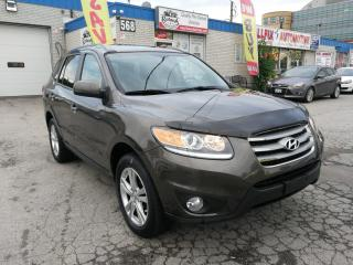 Used 2012 Hyundai Santa Fe Accident Free | AWD | Navi | Backup Cam | Leather for sale in Oakville, ON