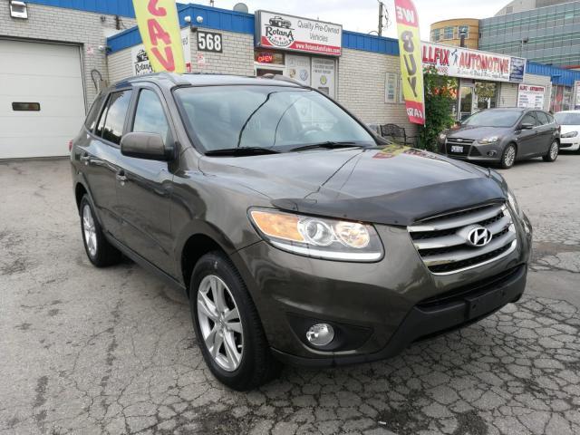 2012 Hyundai Santa Fe Accident Free | AWD | Navi | Backup Cam | Leather