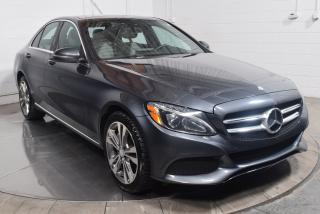 Used 2016 Mercedes-Benz C-Class EN ATTENTE D'APPROBATION for sale in Île-Perrot, QC