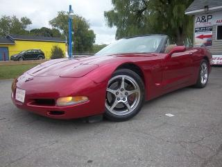 Used 2001 Chevrolet Corvette for sale in Oshawa, ON
