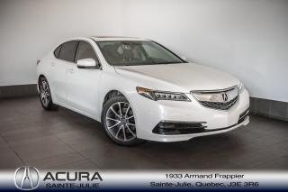 Used 2016 Acura TLX V6 Tech for sale in Ste-Julie, QC