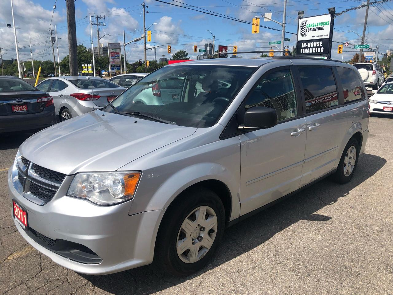 2011 Dodge Grand Caravan Stow and Go l Cruise l