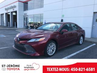 Used 2018 Toyota Camry Hybride * XLE * HYBRIDE * 11 000 KM* CUIR * TOIT * for sale in Mirabel, QC