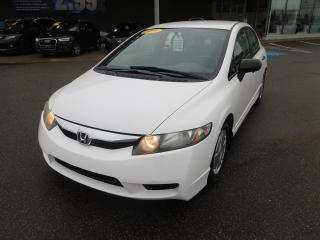 Used 2011 Honda Civic DX-G,A/C,CRUISE,VITRE ÉLECT,MANUELLE for sale in Mirabel, QC