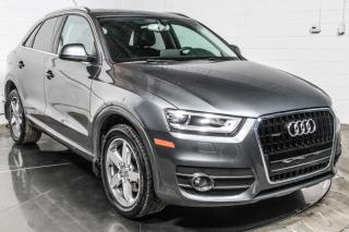 Used 2015 Audi Q3 PROGRESSIV QUATTRO TSI CUIR TOIT PANO MA for sale in St-Constant, QC
