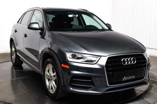 Used 2016 Audi Q3 PROGRESSIV QUATTRO TSI CUIR TOIT PANO MA for sale in Île-Perrot, QC