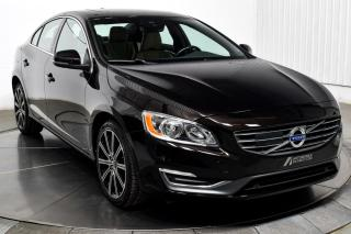 Used 2015 Volvo S60 T6 PREMIER AWD CUIR TOIT for sale in Île-Perrot, QC