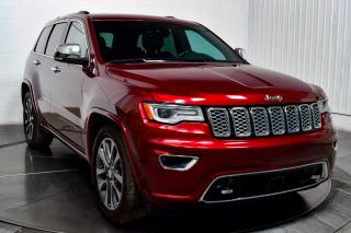 Used 2017 Jeep Grand Cherokee OVERLAND V6 4X4 CUIR TOIT NAVI for sale in Île-Perrot, QC