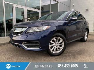 Used 2016 Acura RDX TECH PKG LEATHER SUNROOF NAV GREAT CONDITION for sale in Edmonton, AB