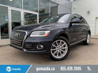 Used 2017 Audi Q5 TECHNIK 3.0T V6 FULL LOAD GREAT CONDITION for sale in Edmonton, AB