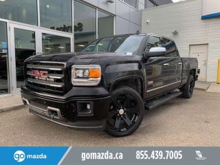 Used 2015 GMC Sierra 1500 SLT 4X4 CREW CAB ALL TERRAIN FULLOAD NICE TRUCK for sale in Edmonton, AB