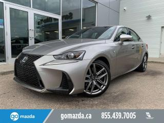 Used 2017 Lexus IS 300 F SPORT AWD FULL LOAD for sale in Edmonton, AB