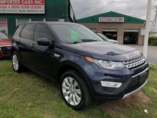 Used 2016 Land Rover Discovery Sport HSE LUXURY 7 Passenger for sale in Burlington, ON