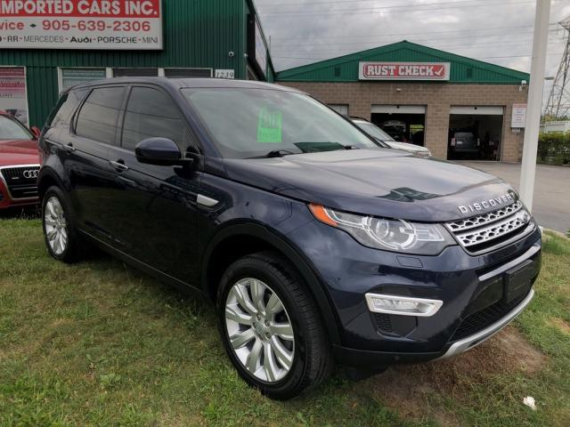 2016 Land Rover Discovery Sport HSE LUXURY 7 Passenger