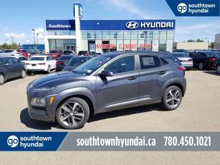 Used 2020 Hyundai KONA Ultimate - 1.6T Turbo/Nav/Wireless Charging for sale in Edmonton, AB