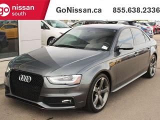 Used 2016 Audi S4 LEATHER SEATS BLUETOOTH SIRIUS NAVIGATION BACK UP CAMERA for sale in Edmonton, AB