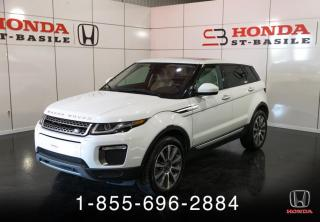 Used 2016 Land Rover Evoque EVOQUE + HSE + GARANTIE + TOIT PANO !! for sale in St-Basile-le-Grand, QC